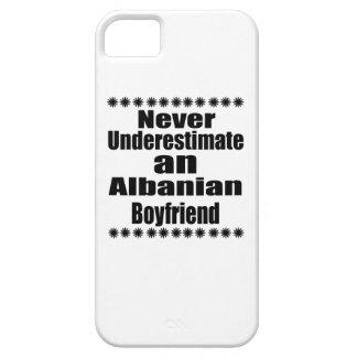 Never Underestimate An Albanian Boyfriend iPhone 5 Case