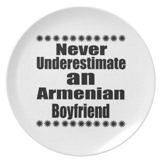 Never Underestimate An Armenian Boyfriend Plate