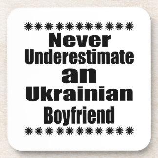 Never Underestimate An Ukrainian Boyfriend Coasters