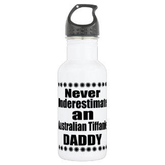 Never Underestimate Australian Tiffanie Daddy 532 Ml Water Bottle