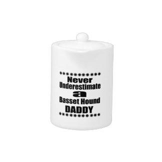 Never Underestimate Basset Hound Daddy