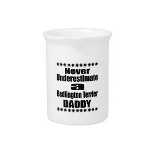 Never Underestimate Bedlington Terrier Daddy Pitcher