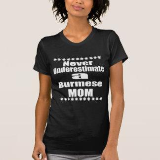 Never Underestimate Burmese Mom T-Shirt
