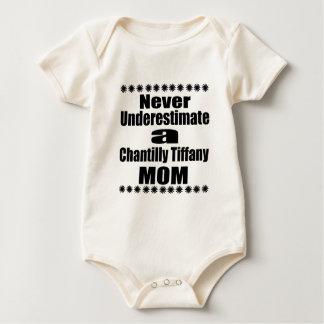 Never Underestimate Chantilly Tiffany Mom Baby Bodysuit