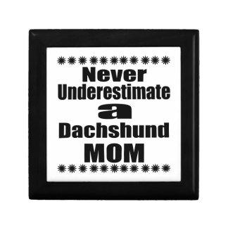 Never Underestimate Dachshund Mom Gift Box