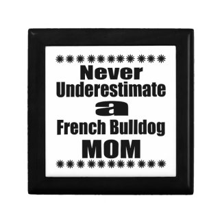 Never Underestimate French Bulldog  Mom Gift Box