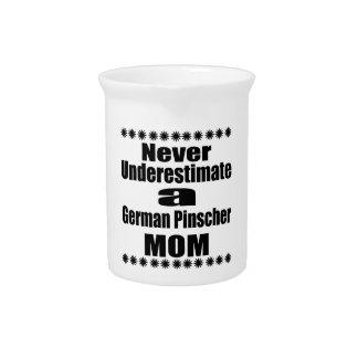 Never Underestimate German Pinscher Mom Pitcher