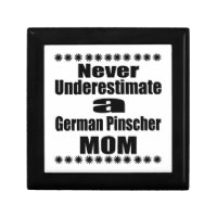 Never Underestimate German Pinscher Mum