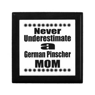 Never Underestimate German Pinscher Mum Gift Box