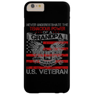 Never underestimate Grandpa Barely There iPhone 6 Plus Case