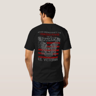 Never underestimate Grandpa T-shirt
