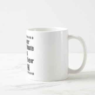 Never Underestimate Harrier Mom Coffee Mug