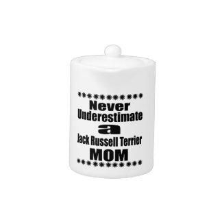 Never Underestimate Jack Russell Terrier  Mom