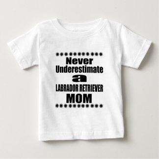 Never Underestimate LABRADOR RETRIEVER Mom Baby T-Shirt