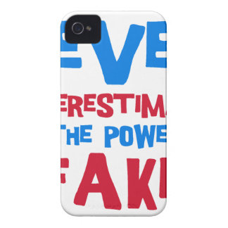 Never underestimate the power of a kid iPhone 4 Case-Mate case