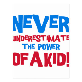 Never underestimate the power of a kid postcard