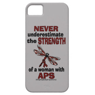 Never Underestimate...Woman/Dragonfly...APS iPhone 5 Case