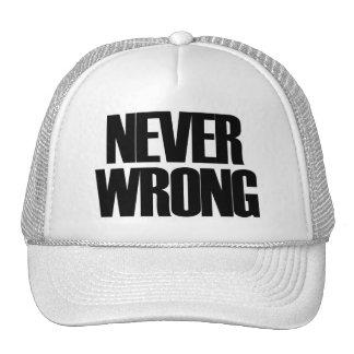 Never Wrong Cap