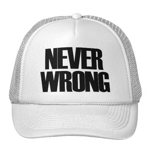Never Wrong Mesh Hat