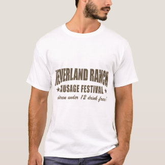 Neverland Ranch Sausage Fest funny T-Shirt
