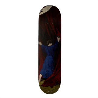 Nevermore... 21.6 Cm Old School Skateboard Deck