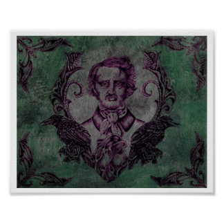 Nevermore in Green Poster