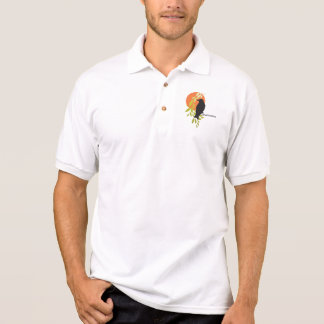 Nevermore - Raven & Moon by Poe Polo Shirt