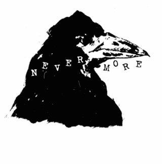 Nevermore Raven of Edgar Allan Poe Photo Sculpture Decoration