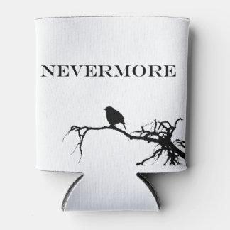Nevermore Raven Poem Edgar Allan Poe Design Can Cooler