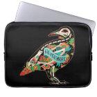 Nevermore Sugar Skull Raven Laptop Sleeve