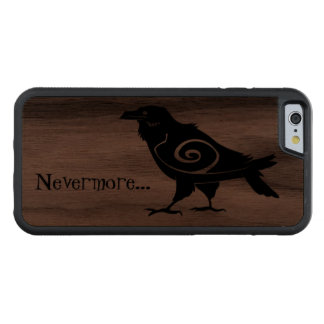 Nevermore Tribal Raven Walnut iPhone 6 Bumper Case