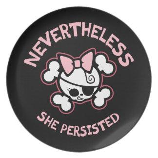 Nevertheless, Arr Plate