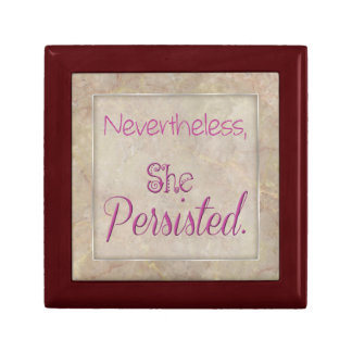 Nevertheless She Persisted Gift Box