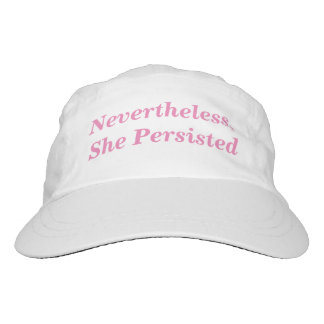 Nevertheless She Persisted Hat