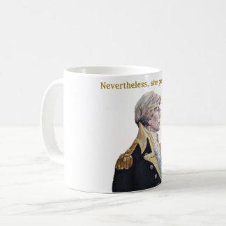 Nevertheless she persisted mug! coffee mug