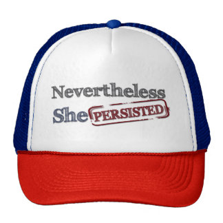 Nevertheless She persisted Resist Cap