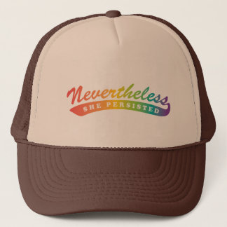 Nevertheless, she persisted. Trucker Hat