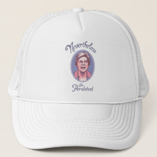Nevertheless, She Persisted Trucker Hat