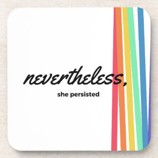 Nevertheless, She PERSISTED with Rainbow Coaster