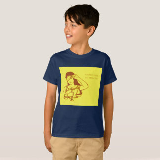 Nevertheless, she persisted (yellow) (kids) T-Shirt