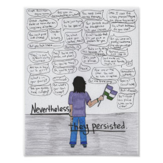 Nevertheless, They Persisted Poster