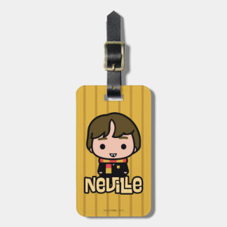 Neville Longbottom Cartoon Character Art Luggage Tag