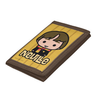 Neville Longbottom Cartoon Character Art Tri-fold Wallets