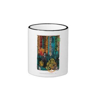 Neville Longbottom Collage 1 Ringer Mug