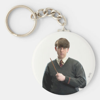 Neville Longbottom Crossed Arms Basic Round Button Key Ring