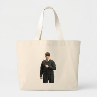 Neville Longbottom Crossed Arms Large Tote Bag