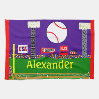 New 2012 Kids & Baby Baseball Towel Sports Gift