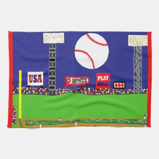 New 2012 Kids Baseball Kitchen Towel Sports Gift