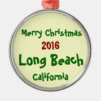 NEW 2016 LONG BEACH CALIFORNIA CHRISTMAS ORNAMENT