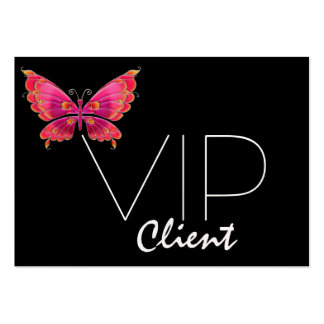 NEW #2 Butterfly-VIP Card-SRF Pack Of Chubby Business Cards